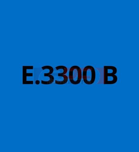 E3300B Bleu Azur brillant - Vinyle adhésif Ecotac - Durabilité jusqu'à 6 ans