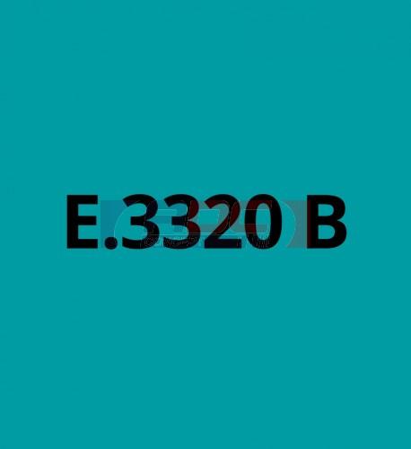 E3320B Bleu Turquoise brillant - Vinyle adhésif Ecotac - Durabilité jusqu'à 6 ans