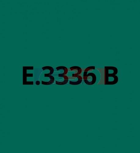 E3336B Vert Foncé brillant - Vinyle adhésif Ecotac - Durabilité jusqu'à 6 ans