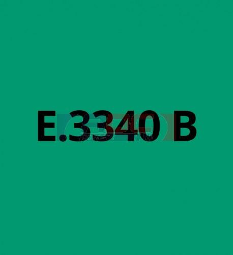 E3340B Vert Turquoise brillant - Vinyle adhésif Ecotac - Durabilité jusqu'à 6 ans