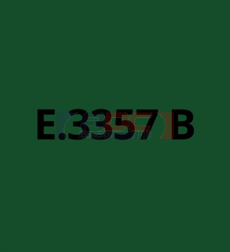 E3357B Vert Emeraude brillant - Vinyle adhésif Ecotac - Durabilité jusqu'à 6 ans