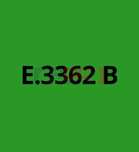 E3362B Vert Moyen brillant - Vinyle adhésif Ecotac - Durabilité jusqu'à 6 ans