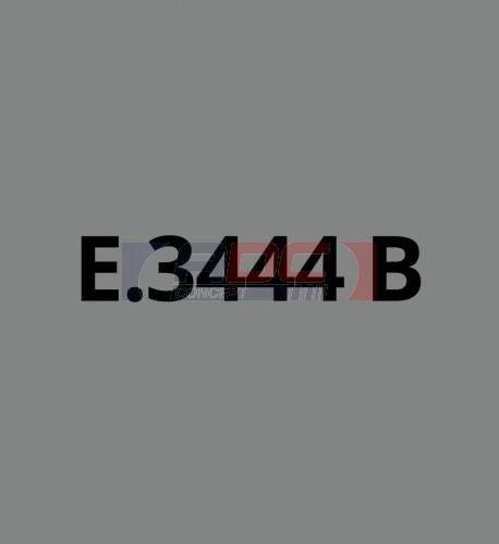 E3444B Gris Foncé brillant - Vinyle adhésif Ecotac - Durabilité jusqu'à 6 ans