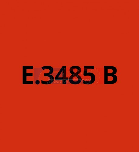 E3485B Rouge brillant - Vinyle adhésif Ecotac - Durabilité jusqu'à 6 ans
