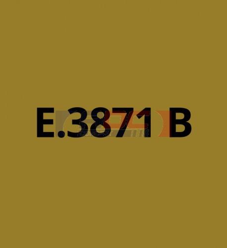 E3871B Or brillant - Vinyle adhésif Ecotac - Durabilité jusqu'à 6 ans