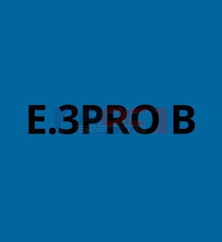 E3PROB Bleu Royal brillant - Vinyle adhésif Ecotac - Durabilité jusqu'à 6 ans
