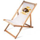 Tissu de rechange pour la chaise longue pliante en bois de bouleau (vendu à l'unité)