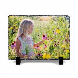 Panneau ardoise mat rectangulaire 15 x 20 cm épaisseur 10 mm (vendu à l'unité)