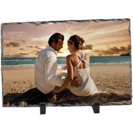 Panneau ardoise mat rectangulaire 20 x 30 cm épaisseur 10 mm (vendu à l'unité)