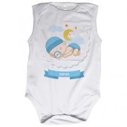 Body bébé Royal Subli sans manches blanc 190 gr/m² - 5 tailles (vendu à l'unité)