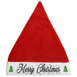 Bonnet de Noël adulte 28 x 32,5 cm (vendu à l'unité)