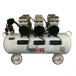 Compresseur insonorisé 65 litres 70 dbA