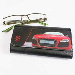 Etui pour lunette en cuir synthétique 15 x 9,5 cm (vendu à l'unité)
