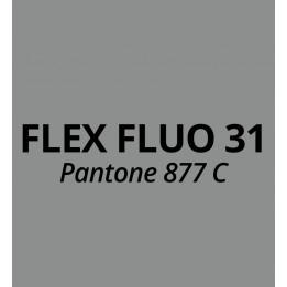 Vinyle thermocollant Flex Argent Mat PU31