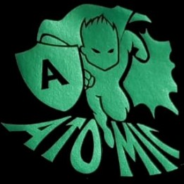 """PU FlexCut Atomic Vert 04 """"Effet métallique irrisé"""""""