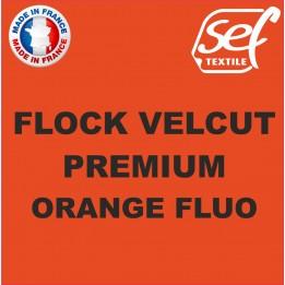 Flock VelCut Premium Orange Fluo