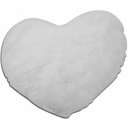 Garniture de coussin en ouate polyester indéformable cœur 42 x 38 cm (vendu à l'unité)