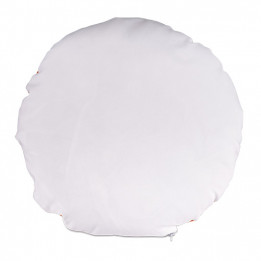 Garniture de coussin en ouate polyester indéformable ronde Ø 40 cm (vendu à l'unité)