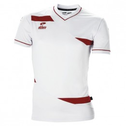 Maillot sport ELDERA blanc/rouge Gamme Olympic XXXS à XXL