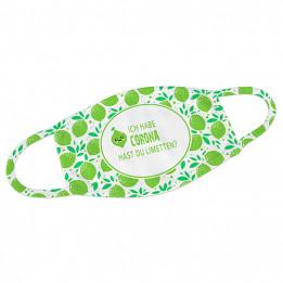 Masque respiratoire blanc 100% polyester extérieur 80% intérieur taille M 16 x 11,5 cm (vendu à l'unité)
