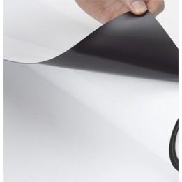 Film magnétique amovible MB810 blanc mat aimanté pour marquage amovible