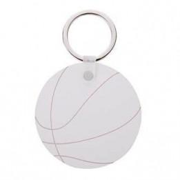 Porte-clé en MDF ballon de hand Ø 5,5 cm (vendu à l'unité)