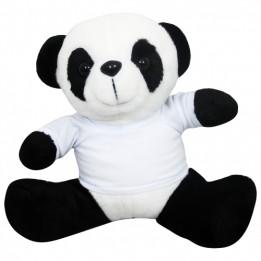 Peluche Panda avec mini tee-shirt (vendu à l'unité)