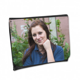 Portefeuille en cuir synthétique 12 x 10 cm (vendu à l'unité)