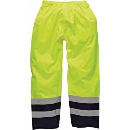 Pantalon de sécurité bicolore adulte 100% polyester DSA 12003