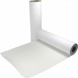 Vinyle adhésif blanc brillant polymère imprimable