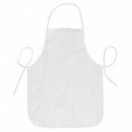 Tablier de cuisine blanc enfant 43 x 59 cm personnalisable en sublimation (vendu à l'unité)