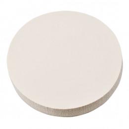 Tapis mousse siliconé rond, épaisseur 25 mm Ø 84 mm
