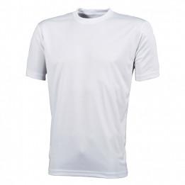 Tee-shirt homme sport respirant blanc 150 gr/m² - 6 tailles (vendu à l'unité)