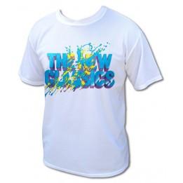 Tee-shirt sport à manches courtes en tissu respirant (vendu à l'unité)
