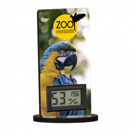 Thermomètre digital de table avec support en fibre dure 60 x 120 mm (vendu à l'unité)