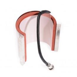 Résistance à mug ronde pour presse Secabo TM1 Ø 6 à 7,5 cm