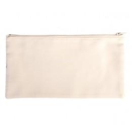 Trousse en lin 28 x 14 cm personnalisable en sublimation (vendu à l'unité)