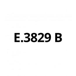 E3829B Blanc brillant - Vinyle adhésif Ecotac - Durabilité jusqu'à 6 ans
