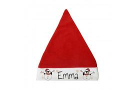 Bonnet de Noël enfant 24 x 30 cm (vendu à l'unité)