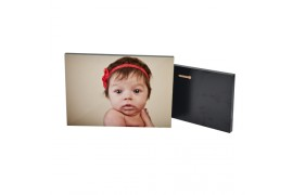 Cadre photo MDF blanc 16 x 27 cm épaisseur 15 mm