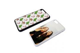 Coque 2D Iphone 7+ en PVC dur (vendu à l'unité)
