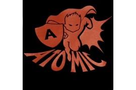 """PU FlexCut Atomic Rouge 02 """"Effet métallique irrisé"""""""