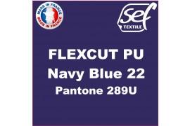 PU FlexCut Navy Blue 22