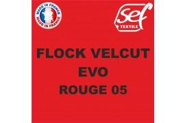 Flock VelCut Evo Rouge 05
