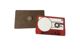 Magnet en MDF forme cassette 8 x 5 cm (vendu à l'unité)