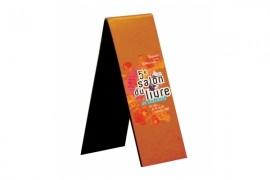 Marque-page magnétique 4 x 7 cm - Ouvert 4 x 14 cm (vendu à l'unité)
