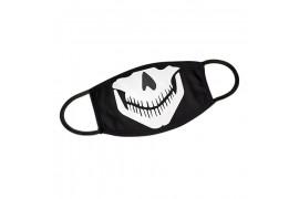 Masque respiratoire blanc 100% polyester extérieur 80% coton intérieur taille XXL 21 x 13 cm (vendu à l'unité)