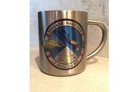 Mug inox H 8 cm - Ø 7 cm