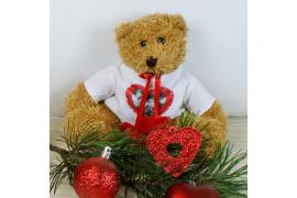 Peluche ours Hardy H 20 cm (vendu à l'unité)