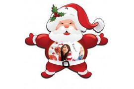 Père Noël en feutrine 12,5 x 11 cm (vendu à l'unité)